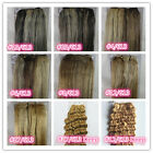 "USPS Mixed Colors 18"" - 36"" Remy Human Hair Extensions Weave Weft Straight Deep"
