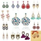 Chic Women Boho Earrings Crystal Rhinestone Jewelry Drop Dangle Eardrop Stud new