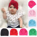 Cute Newborn Toddler Kids Baby Boy Girl Turban Cotton Beanie Hat Winter Warm Cap