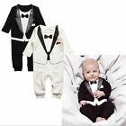 Cute Toddler Kids Baby Boy Outfits Jumpsuit Romper Bodysuit Clothes Gentleman