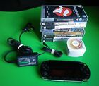 SONY PSP BUNDLE -  CONSOLE with CHARGER & GAMES