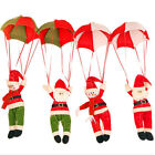 Christmas Tree Hanging Decoration Parachute Snowman Santa Claus Ornaments Xmas