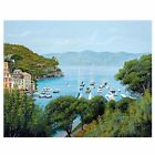 Blue Seaside 5D Cross Stitch EmbroideryDIY Diamond Painting  Crafts Home Decor