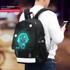Unisex Backpack University Laptop School Shoulder Book Bags Travel Camping