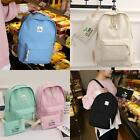 Women Canvas Backpacks Softback Computer Bags Casual Backpack with EN24H