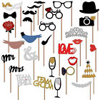 Wedding Photo Booth Props Bachelorette Party Birthday DIY Decorations Supplies