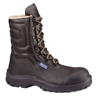 Mens High Leg Steel Toe Cap Work Boots Size 6 to 12 UK with FUR LINING / SNOWFOX