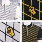 SPECIAL OFFER Wigan Casino Northern Soul Soulie Diamond Knit Panel Polo Shirt