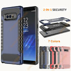 2-1 Hard PC+Soft TPU Shockproof Armor Phone Case Cover for Samsung Galaxy Note 8