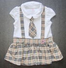 BABY GIRL DRESS 3 Piece Designer Outfit Cute Party Dress Formal Casual Clothing