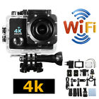 Wifi 1080P 4K Ultra 30FPS Sport Action Camera DVR DV Cam Camcorder Waterproof