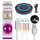 Magnetic Type C Charging Cable+QI Wireless Charger for Samsung Galaxy Note 8 S8+