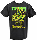 MENS BLACK T-SHIRT THE CRAMPS CREATURE FROM BLACK LEATHER LAGOON HORROR S-5XL