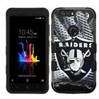 ZTE Sequoia / Blade Z Max Glove Team Design Rugged Armor Hard+Rubber Hybrid Case
