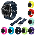 22MM Sports Silicone Bracelet Watch Strap Band For Samsung Gear S3 Frontier