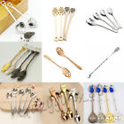 28 Styles Skull Cat Coffee Tea Mixing Spoon Cocktail Stirring Stick Tableware