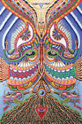 """3D Tapestry Psychedelic Ayahuasca Festival Sheet Curtain Wall Art HUGE 60x90"""""""
