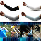 Pair Cooling Arm Sleeves Outdoor Sports Cycling Golf Sun UV Cover Protection NEW