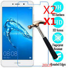 2Pcs 9H Tempered Glass Screen Protector For Huawei Y3 Y5 Y6 Y7/ Y7 prime 2017