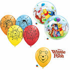 DISNEY WINNIE THE POOH QUALATEX Latex & BOLLE Palloncini (bambini compleanno/