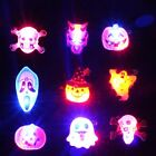 Pop Holiday Gift Halloween LED Light Up Badge/Brooch Pins Party Concert 3Pcs/Set