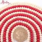 3x5mm Natural Faceted Rondelle Coral Gemstone Beads For Jewelry Making Strand15""