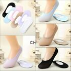 Women Invisible No Show Loafer Ballet Boat Liner Low Cut Cotton Socks