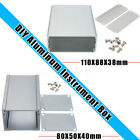 2 Types Electronic Extruded Aluminum PCB Instrument Enclosure Case Project Box