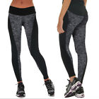 Women Yoga Gym Sports Leggings Running Fitness Pants Stretch Workout Trouser US