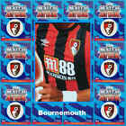 TOPPS Match Attax 2017 2018 football cards BOURNEMOUTH - Various