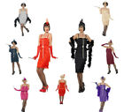 Ladies Charleston Flapper Costume 20's Fancy Dress