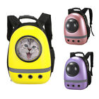 Pet Carrier Cat Dog Backpack Clear Window Astronaut Capsule Breathable Carry Bag