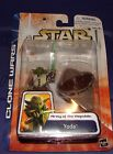 Star Wars Clone Wars Yoda  MOC carded action figure  912