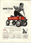 1955 PAPER AD Radio Flyer Rex Line Coaster Wagon Little Red Wagon