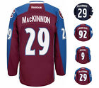 NHL Colorado Avalanche Men Player Reebok Premier Hockey Jersey Navy Burgundy