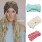 Fashion women crochet headband knitted winter warm headwrap Hairbands