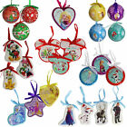 Disney Christmas Tree Decorations / Baubles - Choose Design