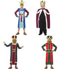 Childs King Costume Christmas Wise Men Nativity Fancy Dress