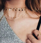 Stylish Simple Gold/Silver Chain Tiny Star Choker Collar Necklace Chic Jewelry
