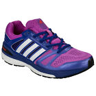 Womens adidas Supernova Sequence 7 Running Shoes In Flash Pink