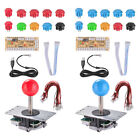 Arcade DIY Kit Game Joystick Push Button USB Encoder Board for PC Fighting Games