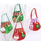 Santa Claus Christmas Candy Bag Elf Elk Snowman Pocket Home Party Gift Decor LD