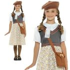 Old Fashioned Scool Girl WWII Historical 1940s Fancy Dress Outfit