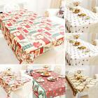 Christmas Decor Tablecloth Dinnerware Cloth Table Mat Tablecloth Runner S0BZ