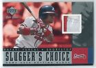 2001 Upper Deck Gold Glove Slugger's Choice Baseball Card #SCRF Rafael Furcal