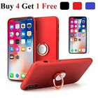 For iPhone X 2017 360° Protective Magnetic Ring Case Cover+Screen Protector  iphone x cases 360 protection 3119864927484040 5