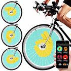 Swaglight Duo Bluetooth Bicycle Bike Spoke Lights w/ App & Trip Tracker 128 LEDs