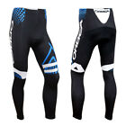 Mens Cycling Clothing Breathable Pad Tights Racing Bicycle Pants Long Trousers
