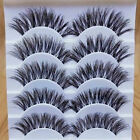 Gracious Makeup Handmade 50Pair Natural Long False Eyelashes Extension Exquisite