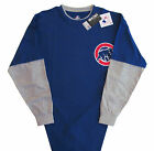 Chicago Cubs Majestic MLB Team Double Long Sleeve T-Shirt -Big & Tall Sizes -NWT